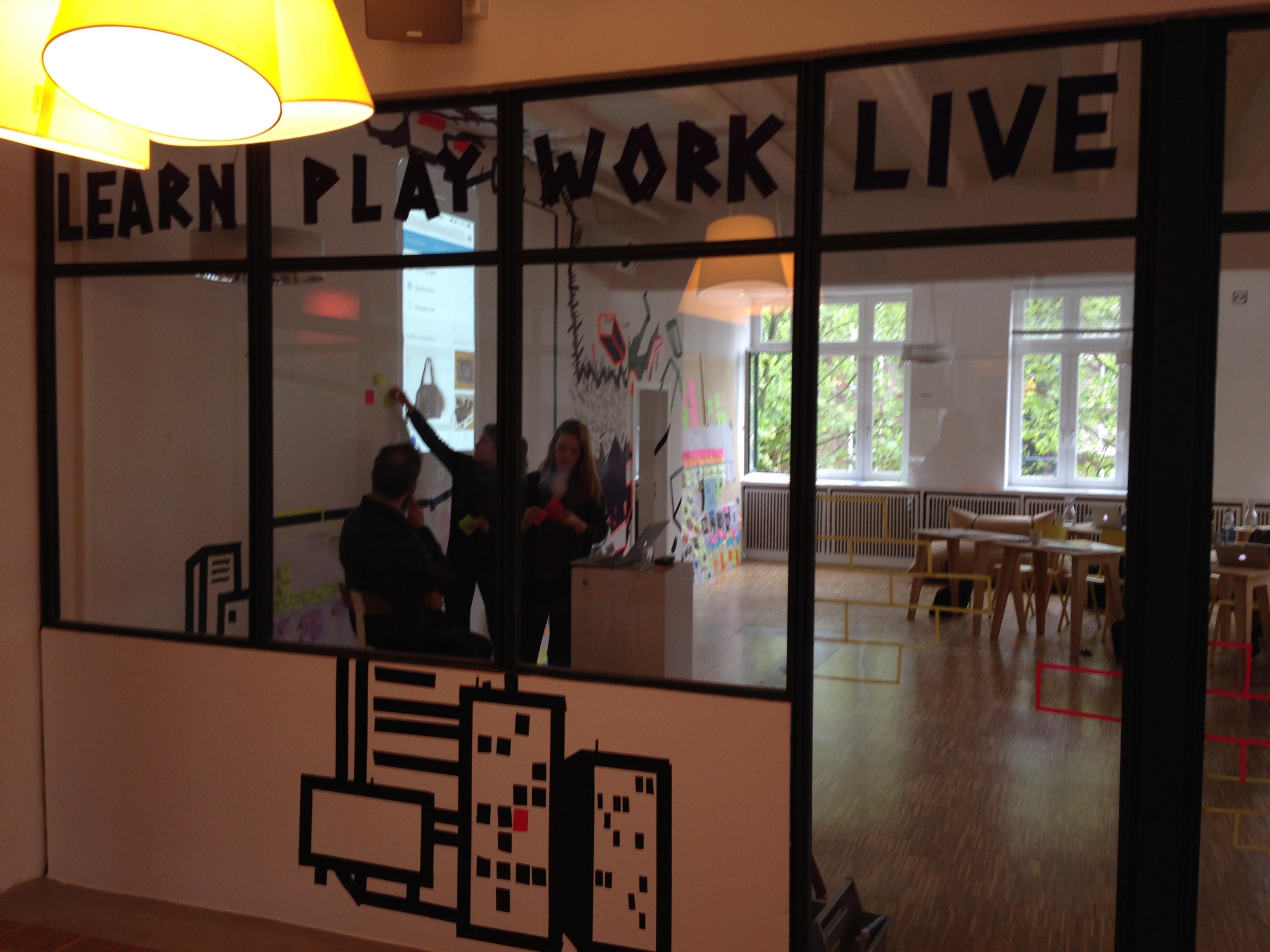 LearnPlayWorkLive - Einblick in die JvM Academy